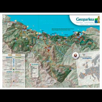 Ruta de los miradores del geoparque de la costa vasca en for Oficina turismo zumaia