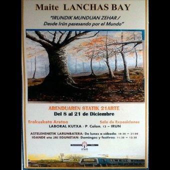 Exposición: Maite Lanchas Bay - Diario Vasco