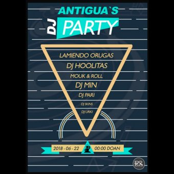 Antigua`s DJ Party en Donostia-San Sebastián