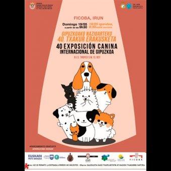 Exposición Internacional Canina de Gipuzkoa en Irun