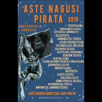 Programa De La Semana Grande De Los Piratas 2019 En Donostia San Sebastián Diario Vasco