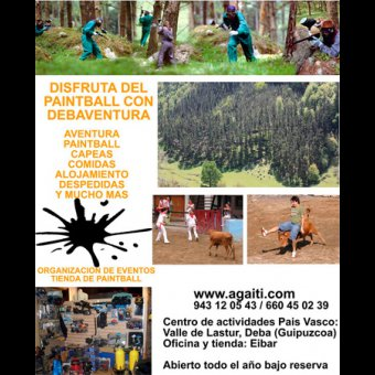 Debaventura Paintball en Deba