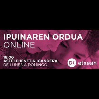 Ipuinaren Ordua Online en Donostia-San Sebastián | Diario Vasco